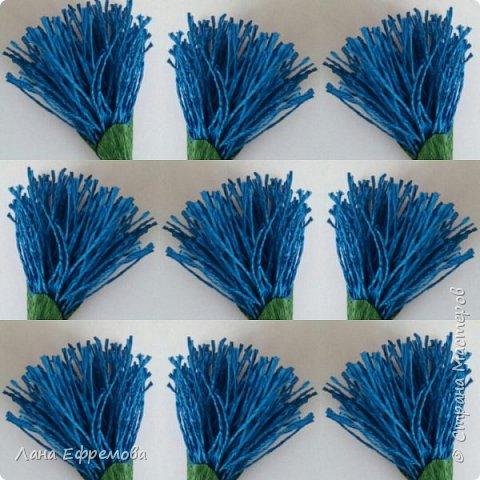 Большие цветы из бумаги фото 4