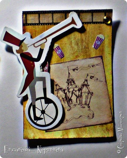 Привет всем, как то я сильно вдохновилась Сумашедшим цирком и сделала №3 часть АТС карточек. Я надеюсь вам понравилась эта серия. фото 3