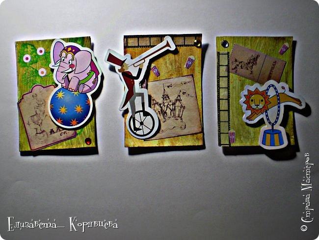 Привет всем, как то я сильно вдохновилась Сумашедшим цирком и сделала №3 часть АТС карточек. Я надеюсь вам понравилась эта серия. фото 1
