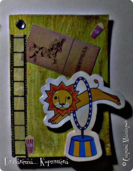 Привет всем, как то я сильно вдохновилась Сумашедшим цирком и сделала №3 часть АТС карточек. Я надеюсь вам понравилась эта серия. фото 4