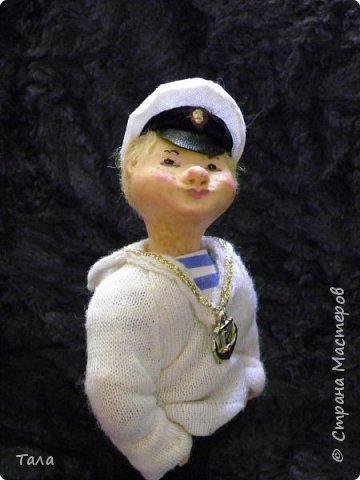 Морячок (21 см) будет рад поселится в вашем доме... фото 1