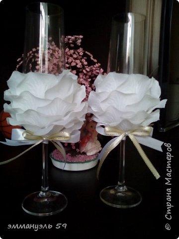 Свадебный набор сделан на заказ. фото 2