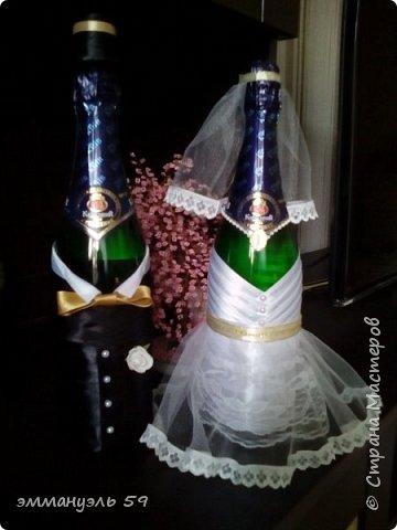 Свадебный набор сделан на заказ. фото 4