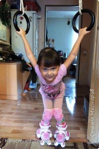 С добрым временем суток, дорогие мастера и мастерицы))) На днях нашей младшей принцессе исполнилось три годика. Увидела в интернете идею вот такой цифры и решила сделать, а как получилось - судить Вам!   фото 4