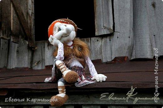 Приветствую вас, милые мастерицы! Очень давно вынашивала мечту-сделать бабу Ягу и еще 1 куколку (пока не скажу какую)... И вот мечтам свойственно сбываться!!!!!!! Образ настолько четко встал перед глазами, рукам оставалось только повторить))) Моя Ягуля перед вами.  фото 2