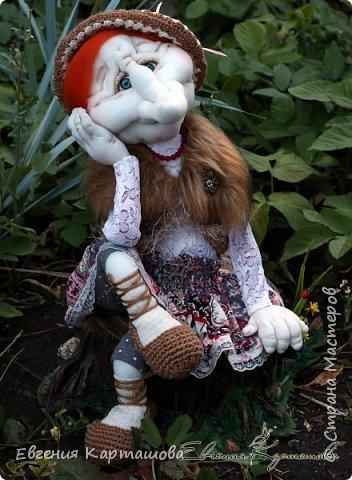 Приветствую вас, милые мастерицы! Очень давно вынашивала мечту-сделать бабу Ягу и еще 1 куколку (пока не скажу какую)... И вот мечтам свойственно сбываться!!!!!!! Образ настолько четко встал перед глазами, рукам оставалось только повторить))) Моя Ягуля перед вами.  фото 4