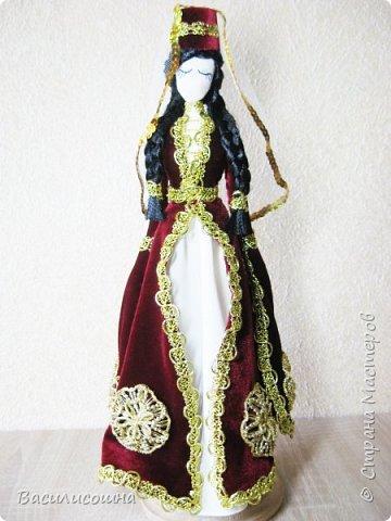 Кукла в осетинском народном костюме. фото 1