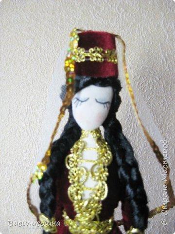Кукла в осетинском народном костюме. фото 3
