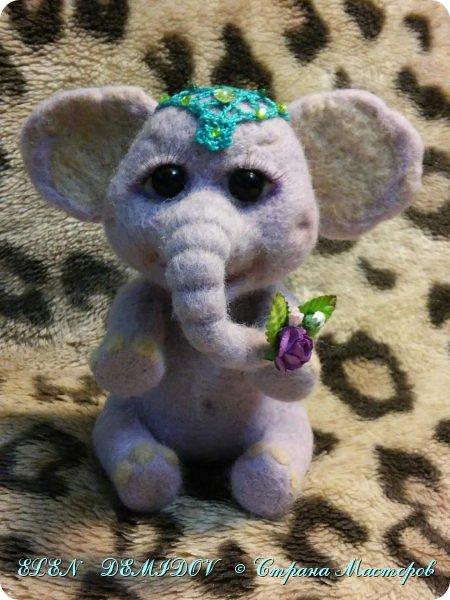 Веселый слоник фото 1