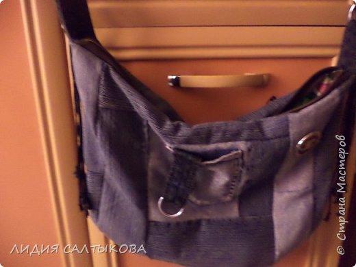 еще в начале лета придумались и сшились такие сумочки.... хотелось что-то простого и летнего фото 2