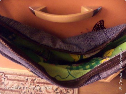 еще в начале лета придумались и сшились такие сумочки.... хотелось что-то простого и летнего фото 3