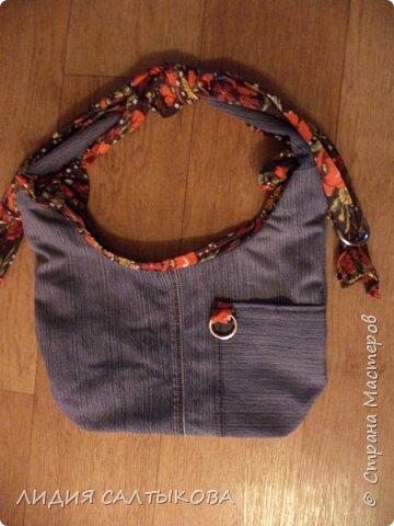 еще в начале лета придумались и сшились такие сумочки.... хотелось что-то простого и летнего фото 1