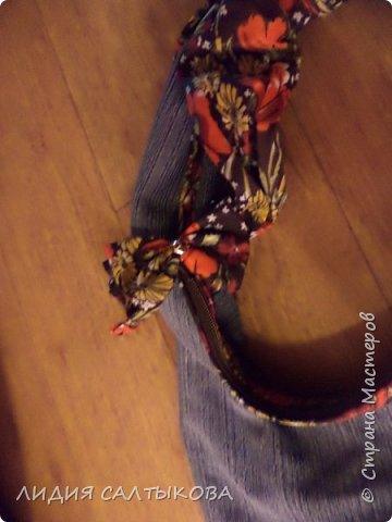 еще в начале лета придумались и сшились такие сумочки.... хотелось что-то простого и летнего фото 6