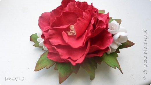 цветы из фома фото 25