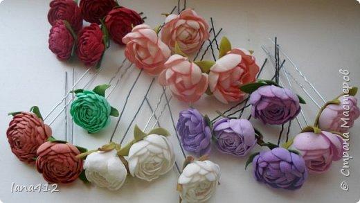 цветы из фома фото 29