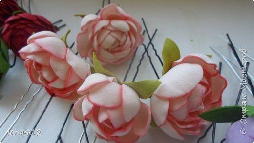 цветы из фома фото 30