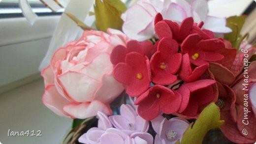 цветы из фома фото 7