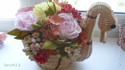 цветы из фома фото 4