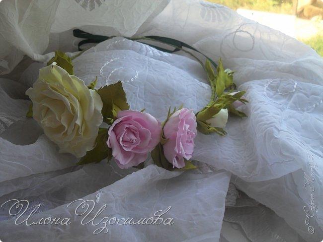 мои цветы из фоамирана фото 3