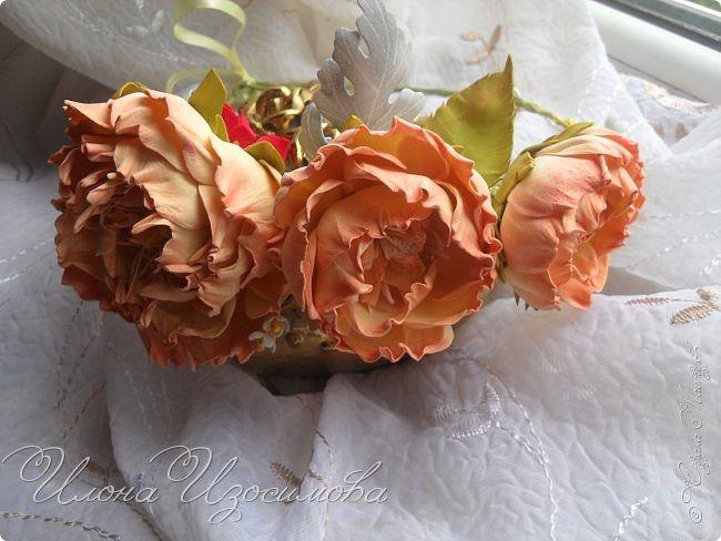 мои цветы из фоамирана фото 4