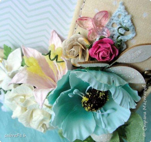 Моя первая работа как ПД!!! Свадебная рамочка))) фото 3
