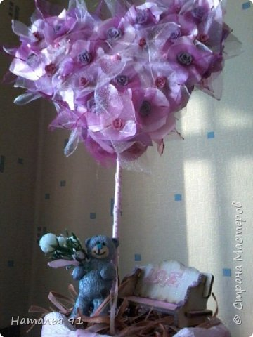 воплотила идею в жизнь! романтичный медвежонок стоит в ожидании своей возлюбленной  фото 3