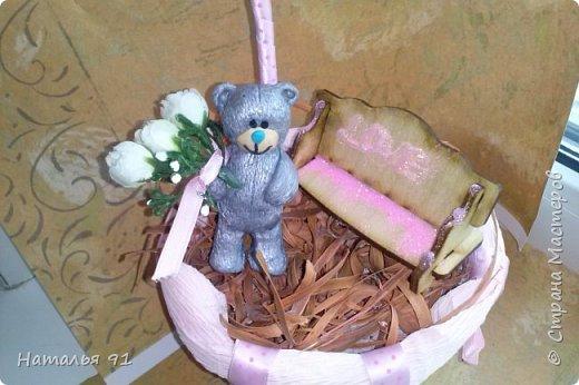 воплотила идею в жизнь! романтичный медвежонок стоит в ожидании своей возлюбленной  фото 2