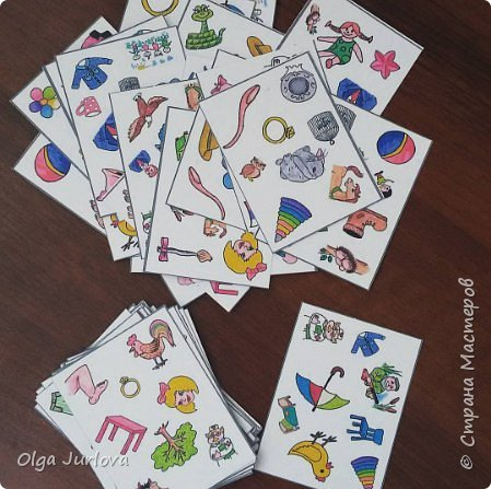 """57 карточек. Игра создавалась к учебнику В. Скультэ """"Английский для детей"""" с соответствующей учебнику лексикой. Постоянно применяю на уроках как разминку. фото 1"""