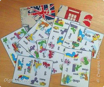 Всего 31 карточка по 6 action verbs на каждой (всего к изучению 31 action verbs) фото 2