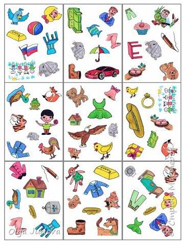 """57 карточек. Игра создавалась к учебнику В. Скультэ """"Английский для детей"""" с соответствующей учебнику лексикой. Постоянно применяю на уроках как разминку. фото 2"""