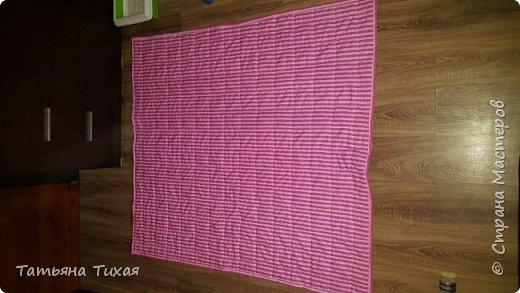 Это одеялко сшила в подарок на день рождения крестницы)) фото 3