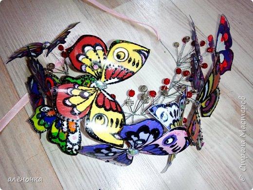 У дочки в художке был конкурс...аксессуар с бабочками.вот и вымудрили фото 1