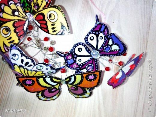 У дочки в художке был конкурс...аксессуар с бабочками.вот и вымудрили фото 2