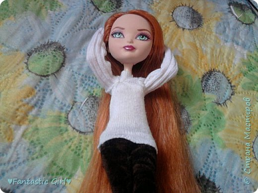Всем Приветик! Скоро осень, а мои куколки к ней не готовы. Вот я и решила начать подготовку к осени. Первой костюм сшила для Холли. фото 2