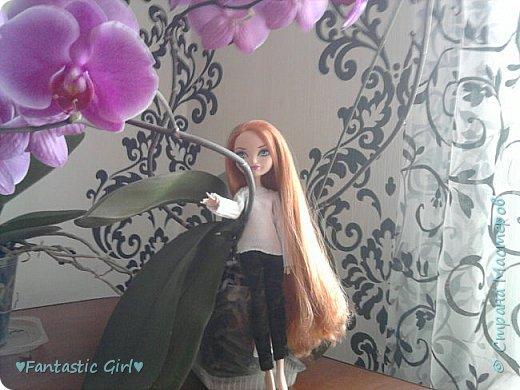 Всем Приветик! Скоро осень, а мои куколки к ней не готовы. Вот я и решила начать подготовку к осени. Первой костюм сшила для Холли. фото 4