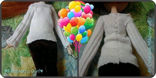 Всем Приветик! Скоро осень, а мои куколки к ней не готовы. Вот я и решила начать подготовку к осени. Первой костюм сшила для Холли. фото 5