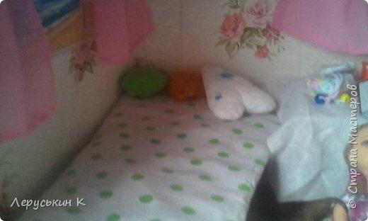 Привет Страна Мастеров. Сегодня я покажу мой кукольный домик. Смотрим. фото 23
