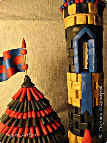 Авторский макет. Средневековая казарма. фото 1