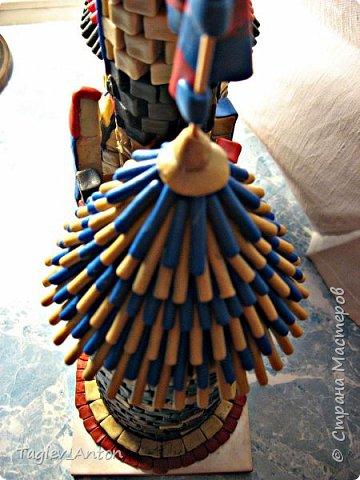 Авторский макет. Средневековая казарма. фото 2