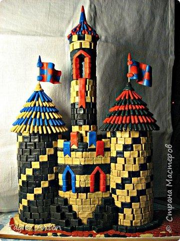 Авторский макет. Средневековая казарма. фото 4