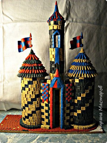 Авторский макет. Средневековая казарма. фото 6