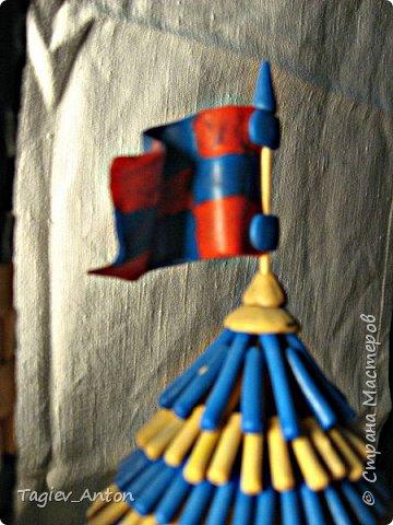 Авторский макет. Средневековая казарма. фото 7