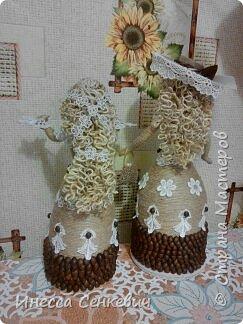 Мои две последние работы - шпагатные куклы. Вдохновитель - Елена Игнатьева http://stranamasterov.ru/node/743359. Только я своих дамочек сделала просто стационарными, без шкатулок. фото 18