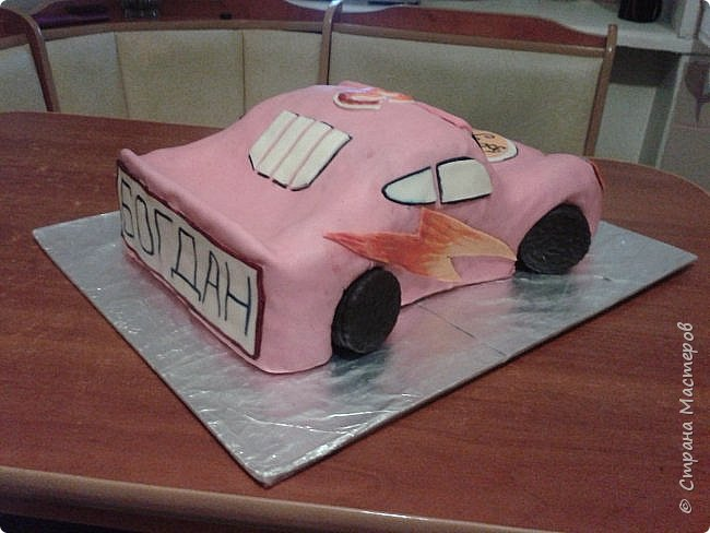 Малюсенький тортик главному мужчине фото 3