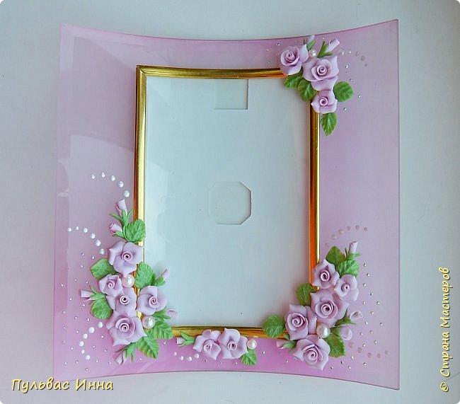 Розовая рамочка для фото фото 5