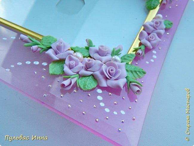 Розовая рамочка для фото фото 1
