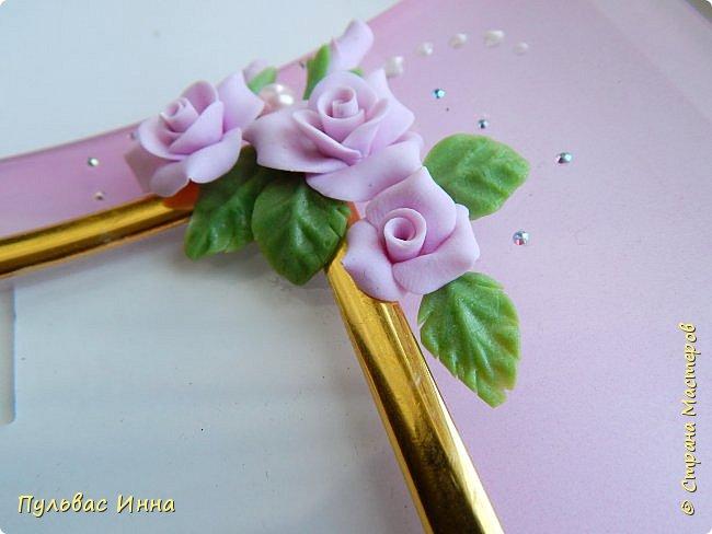 Розовая рамочка для фото фото 2