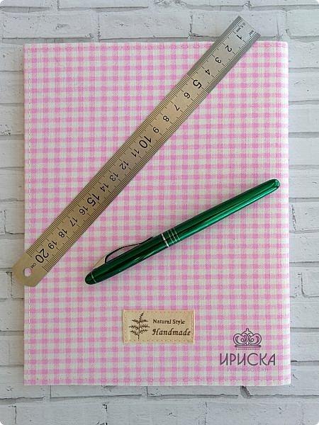 в преддверии нового учебного года сделала новую обложку на покупной дневнике в подарок племяннице, которая в этом году пойдет в 5 класс.  фото 5