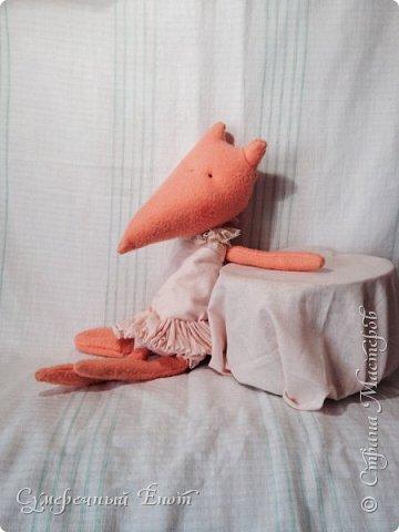 Небольшое пополнение моей маленькой коллекции зверят. Обонятельная лисичка по имени Морковка. Я решила устроить ей небольшую фотосессию. Я давно не заходила сюда (прошло всего 2 года, ахаха).  фото 1