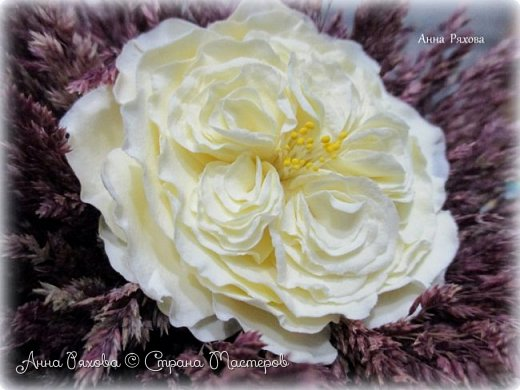 Мои цветочки из зефирки фото 6